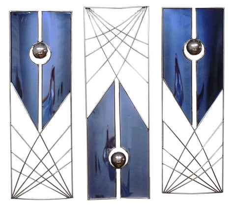 Gravitation Contemporary Wall Sculpture, 3-Piece Set