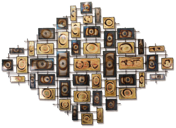 Symmetry Contemporary Wall Sculpture
