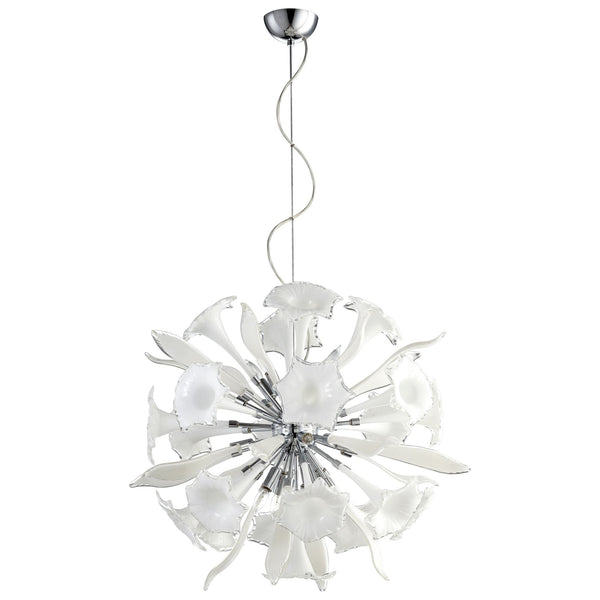Remy 12-Light Contemporary Glass Pendant Lighting Fixture