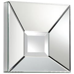 Pentallica Contemporary Decorative Square Mirror by Cyan Design