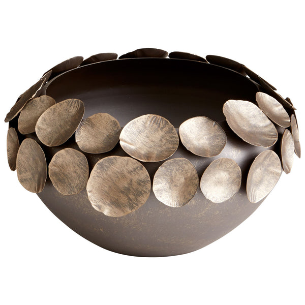 Small Electrum Bronze Iron Decorative Bowl