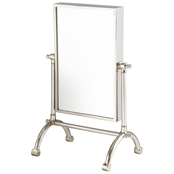 Small Cassius Stainless Steel Makeup Mirror