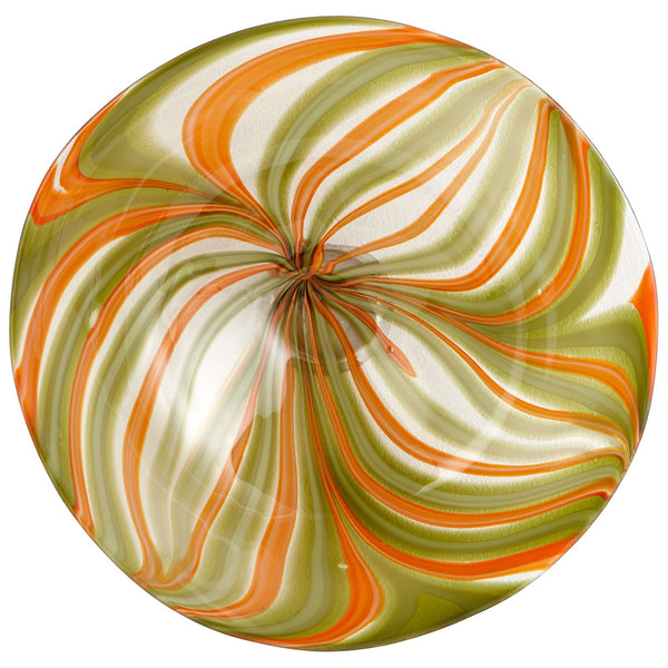 Medium Chika Art Glass Plate