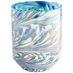 Wanaka Large Round Art Glass Vase by Cyan Design