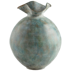 Pluto Large Gold Patina Iron Vase by Cyan Design