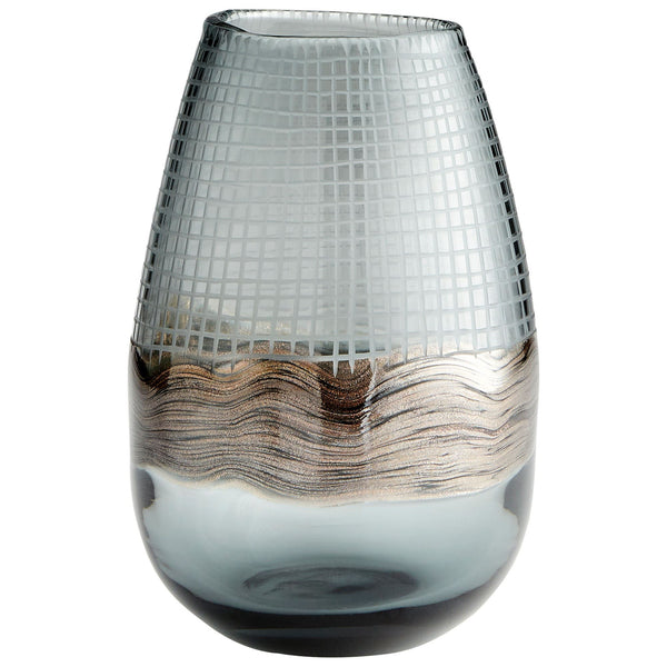 Axiom Small Art Glass Vase