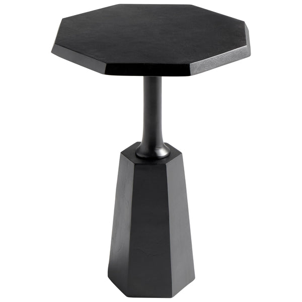 Liverpool Contemporary Bronze Octagonal Accent Table by Cyan Design
