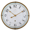 Torriana Traditional Antiqued Gold Wall Clock