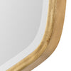 Duronia Transitional Antiqued Gold Leaf Wall Mirror