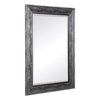 Affton Burnished Silver Rectangular Wall Mirror by Uttermost