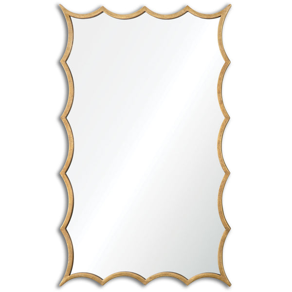 Dareios Gold Mirror by Uttermost