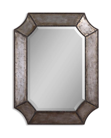 Elliot Distressed Aluminum Mirror by Uttermost