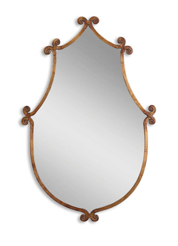 Ablenay Antique Gold Mirror by Uttermost