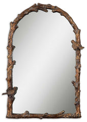 Paza Antique Gold Arched Mirror by Uttermost