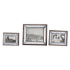 Daria Antique Mirror Photo Frames, 3-Piece Set by Uttermost