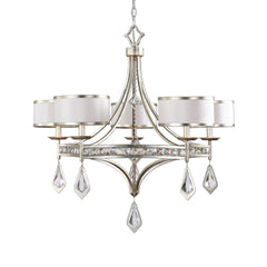 Tamworth 5-Light Silver Champagne Chandelier by Uttermost