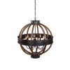 Bowdon 8 Light Orb Pendant by Uttermost