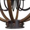 Bowdon Industrial 8 Light Orb Pendant Lighting Fixture