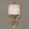 Alenya 2-Light Burnished Gold Wall Sconce by Uttermost