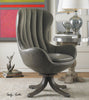 Linford Mid-century Modern Swivel Chair