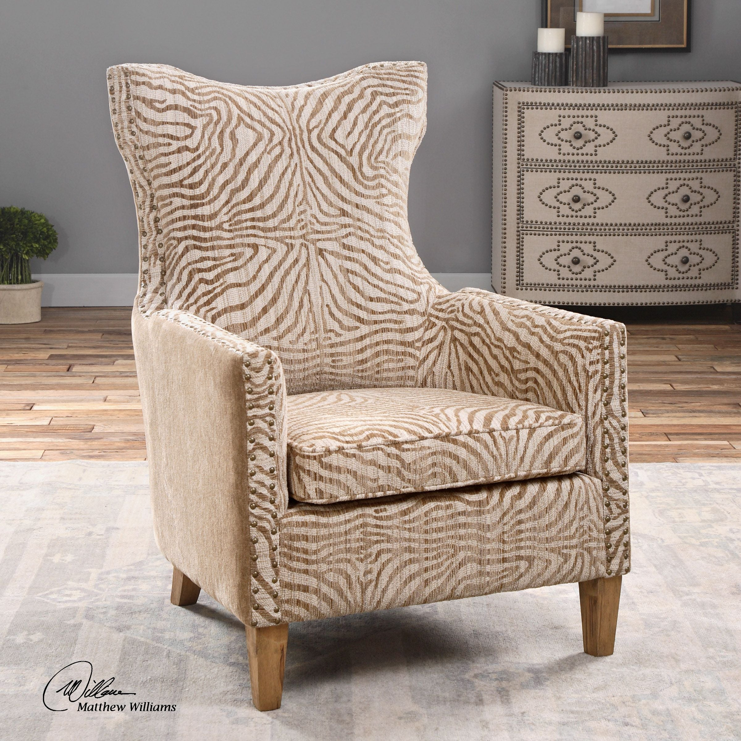 Kiango Animal Print Accent Chair | Innovations Designer Home ... on leopard print living room furniture, leopard chair, beauty furniture home, paisley furniture home, leopard reclining sofa, leopard print furniture and accessories, zebra furniture home, leopard print retro furniture, animal print for the home, beach furniture home,
