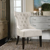 Arlette Tufted Wing Chair