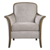 Brittoney Transitional Taupe Accent Chair