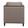Ennis Contemporary Taupe Club Style Accent Chair by Uttermost