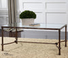 Warring Iron Coffee Table by Uttermost