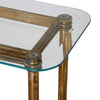 Elenio Glass Console Table by Uttermost