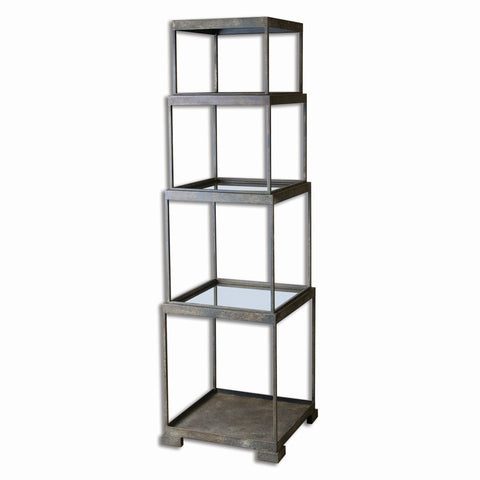 Friedman Metal Etagere by Uttermost
