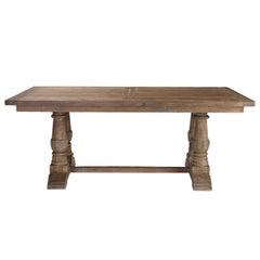 Stratford Rustic Salvaged Wood Dining Table by Uttermost