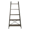 Zosar Urban Industrial Brushed Steel Etagere