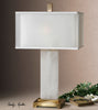 Athanas Alabaster Table Lamp by Uttermost