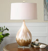 Flavian Glazed Ceramic Table Lamp by Uttermost