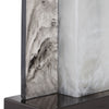 Vanda Contemporary Faux Stone Table Lamp