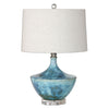 Chasida Blue Ceramic Accent Lamp