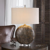 Chalandri Rust Bronze Table Lamp
