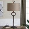 Ferro Cast Iron Table Lamp by Uttermost