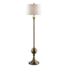 Abriola Transitional Antiqued Brass Floor Lamp by Uttermost