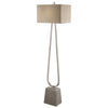 Carugo Polished Nickel Floor Lamp by Uttermost