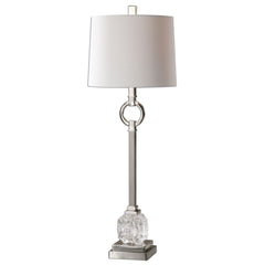 Bordolano Polished Nickel Buffet Lamp by Uttermost