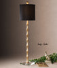 Quindici Metal Bamboo Buffet Lamp by Uttermost