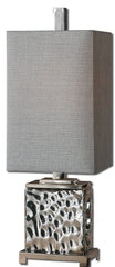 Bashan Nickel Accent Lamp by Uttermost