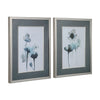 Midnight Blossoms Watercolor Framed Prints, 2-Piece Set