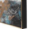 Crashing Waves Impressionistic Seascape Handpainted Artwork, 3-Piece Set