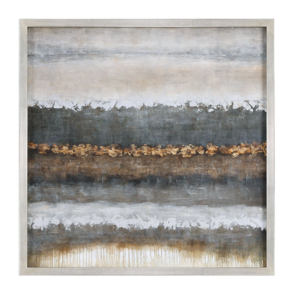 Layers Impressionistic Landscape Hand Painted Artwork