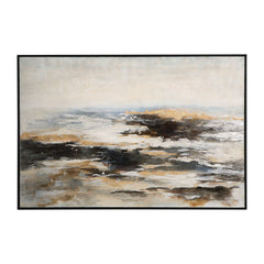Aftermath Impressionistic Seascape Hand Painted Artwork by Uttermost