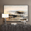 Aftermath Impressionistic Seascape Hand Painted Artwork