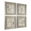 Divination Abstract Framed Art Prints, 4-Piece Set